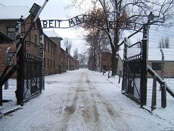 Campo di concentramento di auschwitz foto